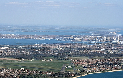 Airfield and Portsmouth